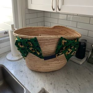 Giselle Alice Straw Tote